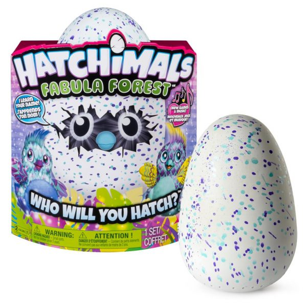 ตุ๊กตาฟักไข่ Hatchimals Fabula Forest Puffatoo Asst