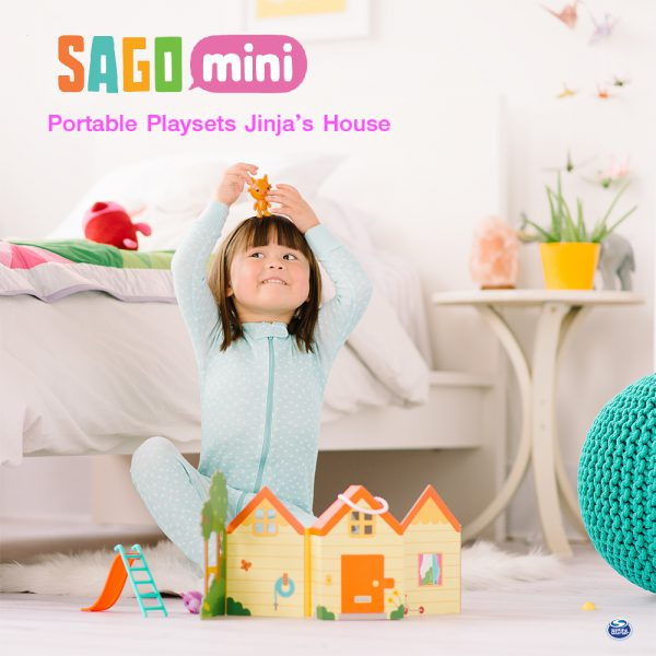 ของเล่น Sago Mini Portable Playset Jinja'S House @kiddopacific